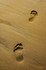 This isn't about footprints ...