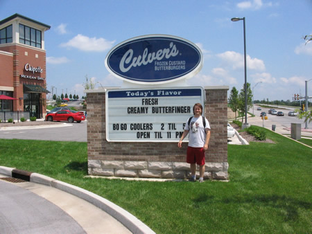 Culver's Butterburgers