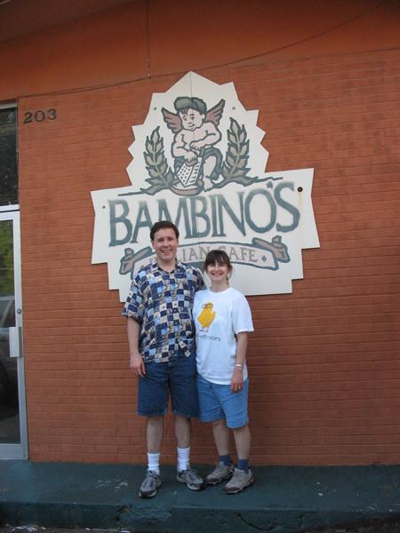 Bambinos Italian Cafe, Columbia Missouri